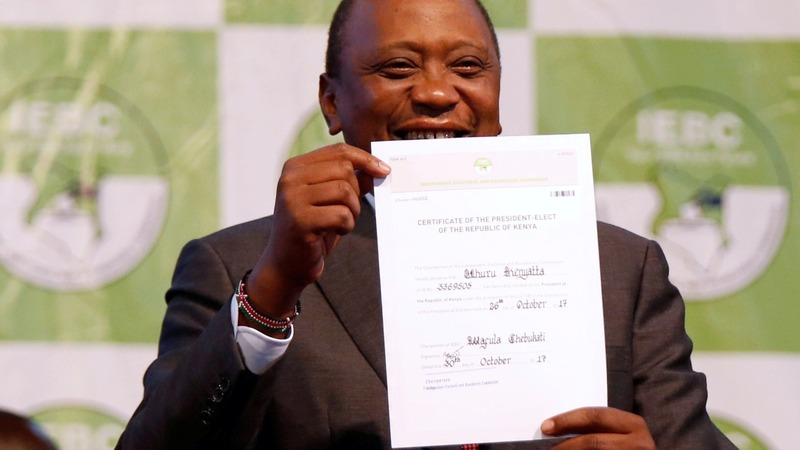 Kenyatta wins Kenya rerun, but dangers lurk