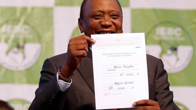 Kenyatta wins Kenya rerun, but dangers lurk