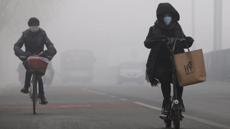 Greenhouse gas levels post record rise: UN