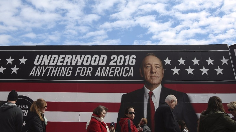 Netflix drops Spacey's 'House of Cards'