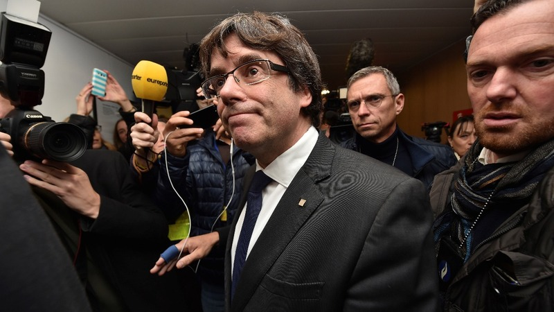 Sacked Catalan leader attacks Spain from EU capital