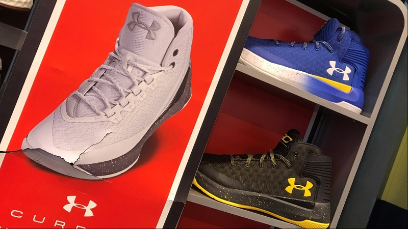 "Under Armour's ""calamitous"" quarter"