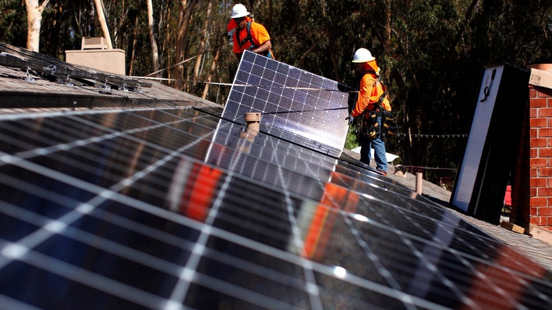 Trump administration eyes solar panel import tax