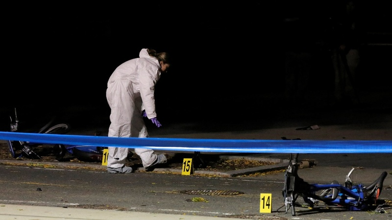 Deadly truck attack in New York branded 'terrorism'