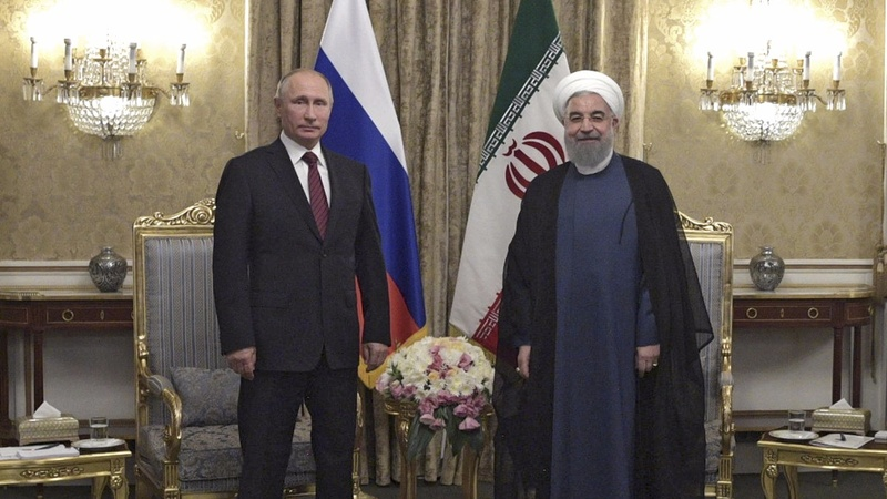 A warming relationship between Russia and Iran