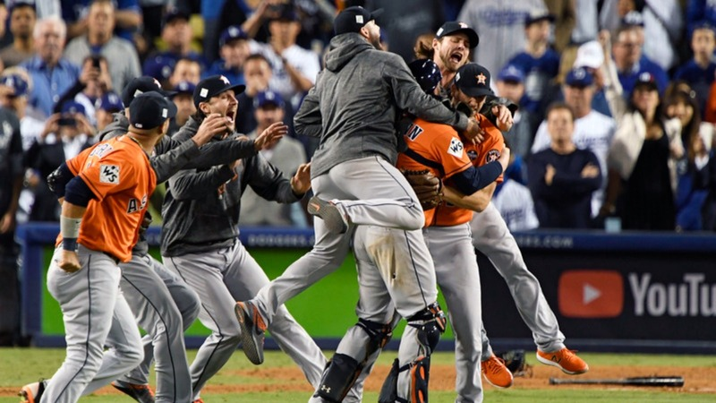 Houston Astros cinch first-ever World Series title