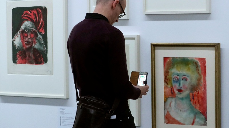 A trove of Nazi banned art makes its public debut