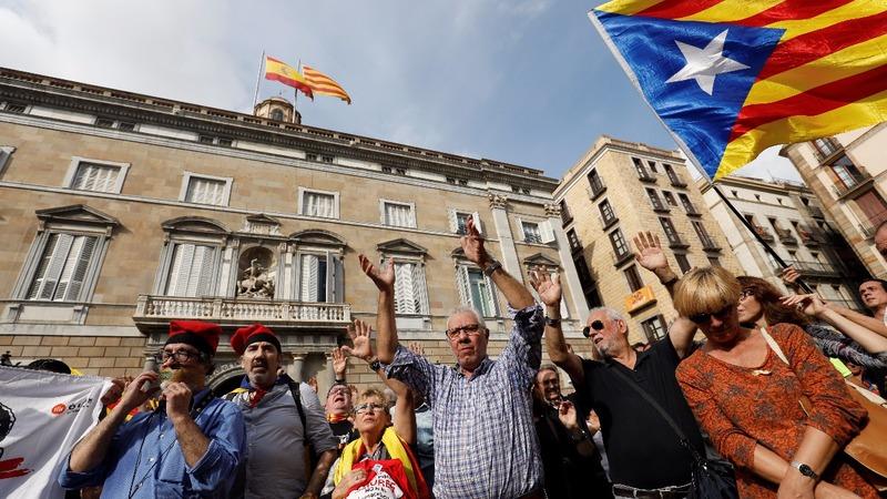 Arrest warrant expected for Catalan leader