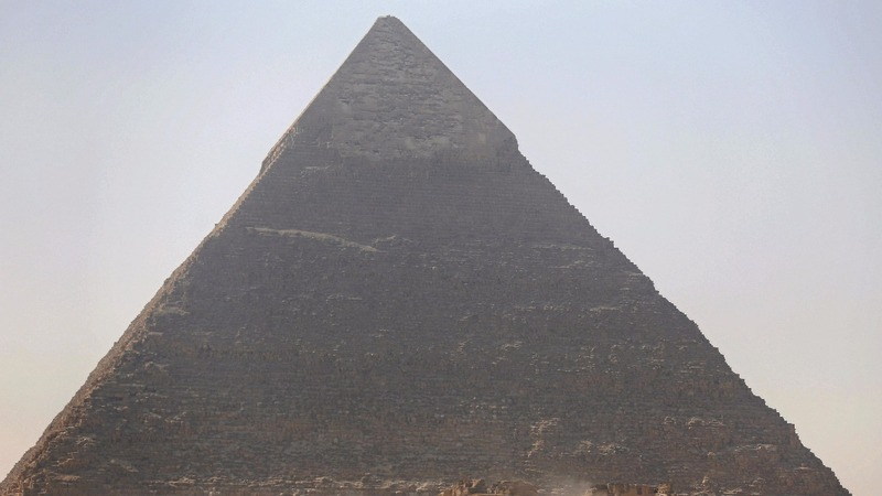 Mysterious 'void' found in Egypt's Great Pyramid