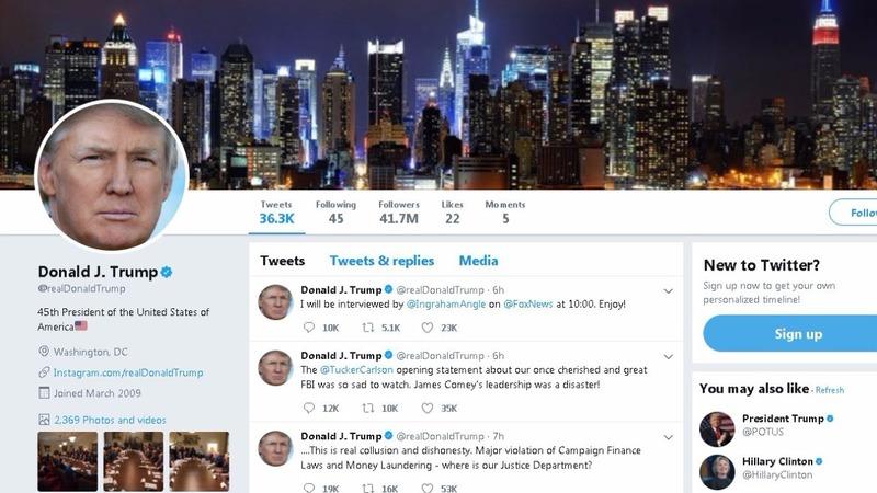 Twitter employee deactivates Trump's account on last day