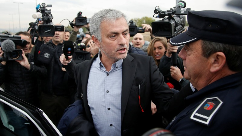 Man Utd boss Mourinho denies tax fraud