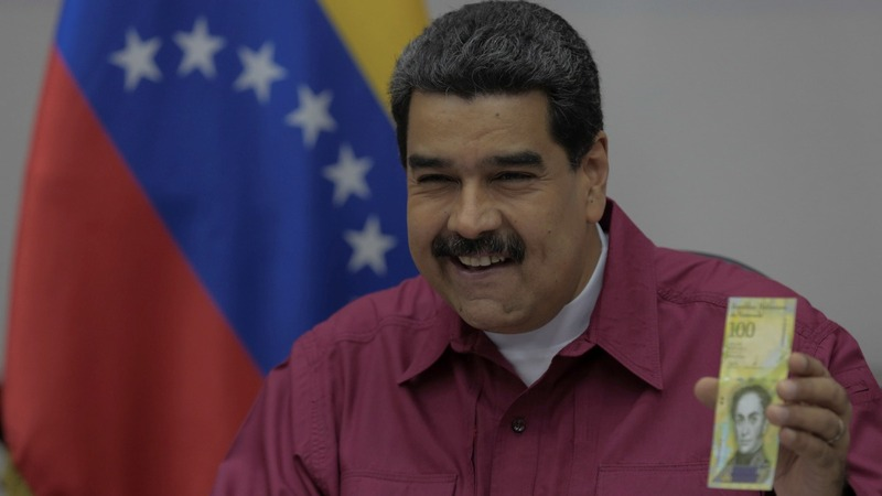 Venezuelan crisis hits global bond market