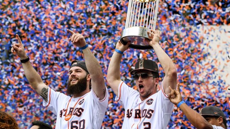 INSIGHT: Astros celebrate World Series win in Houston