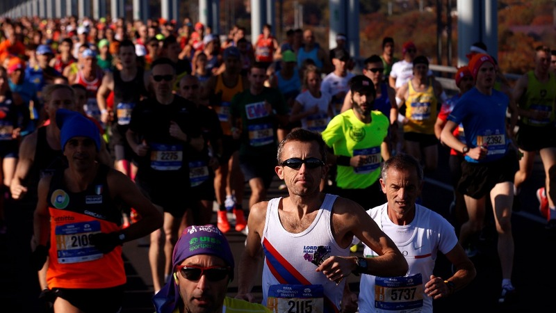 NYC marathoners undaunted by deadly truck attack