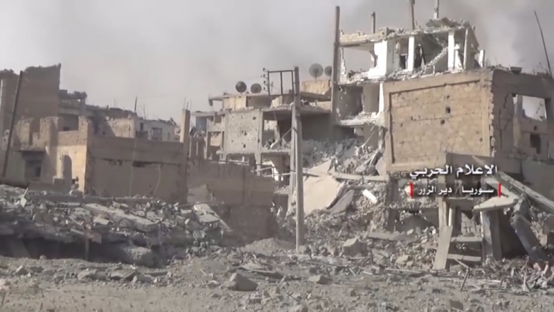 INSIGHT: Deir al-Zor in ruins after IS is ousted