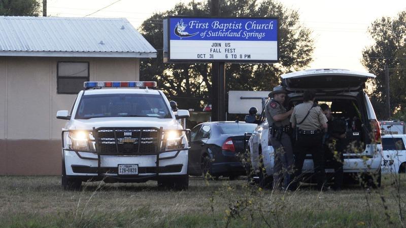 Texas gunman kills at least 26 at small-town church