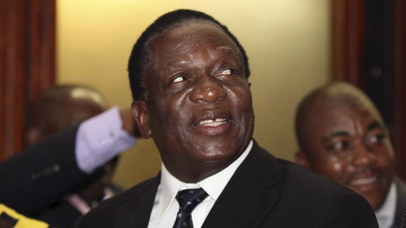Mugabe fires his VP, seen as rival