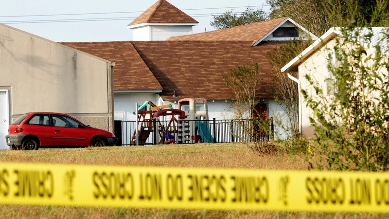 Texas gunman sent threatening text to in-laws: police