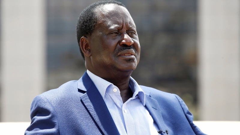 Kenya's Odinga says talks will pave way out of crisis
