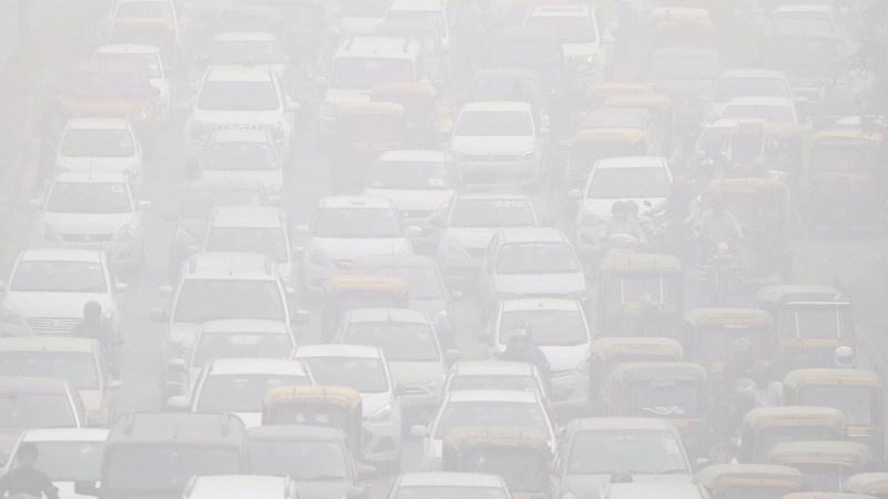 Pollution levels soar in India's capital
