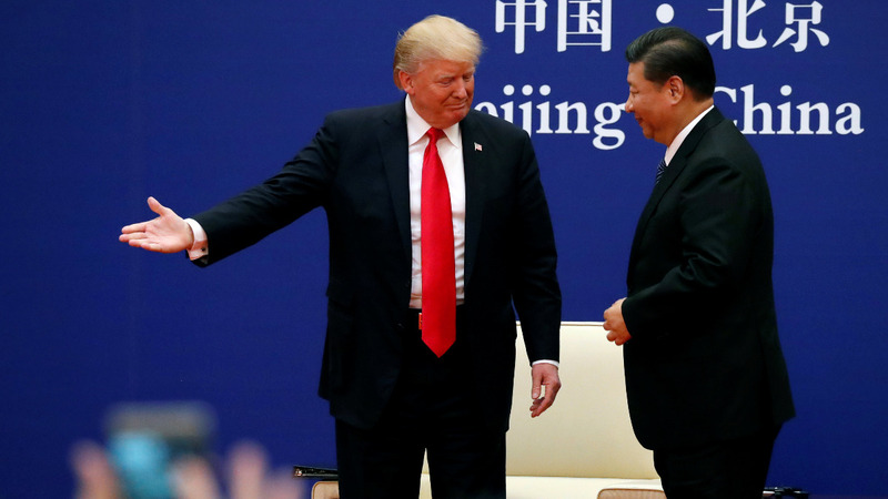 Trump urges China's Xi to act on North Korea and trade