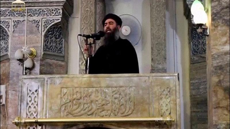 IS leader Baghdadi in Syrian town - Hezbollah media