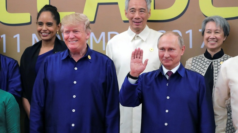 INSIGHT: Trump and Putin have a moment at APEC summit
