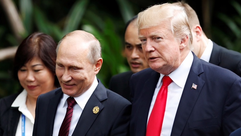 Trump, Putin say IS can be defeated