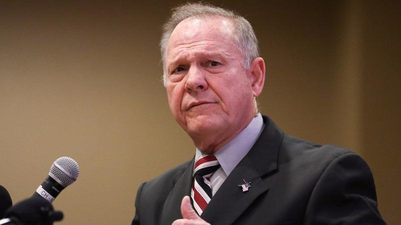 GOP establishment bails on Moore after sex allegations