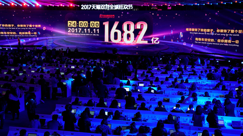 China's Singles' Day sales hit record $25 billion