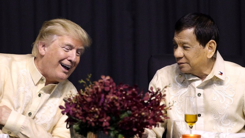 Trump boasts 'great relationship' with Duterte at ASEAN
