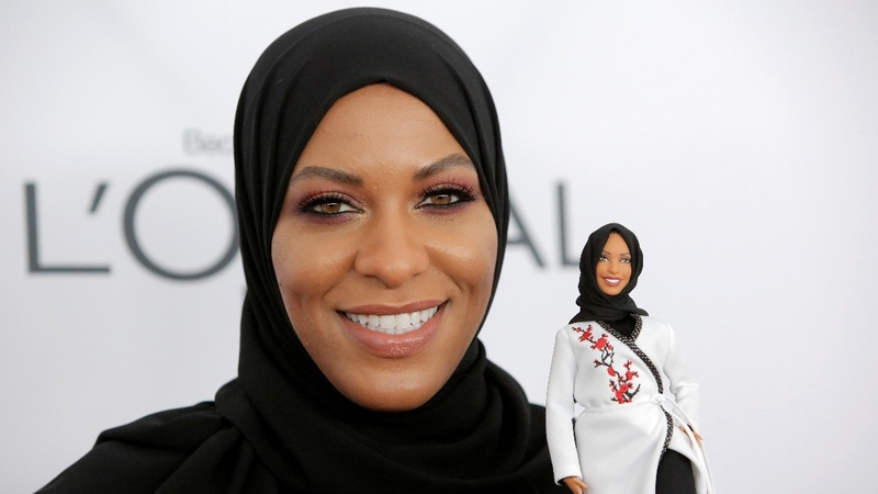 Olympian fencer inspires first hijab-wearing Barbie