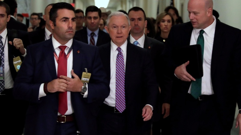 Sessions denies lying about Russia-related campaign meetings