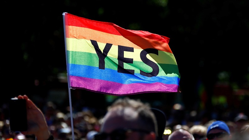 Australians say 'yes' to same-sex marriage