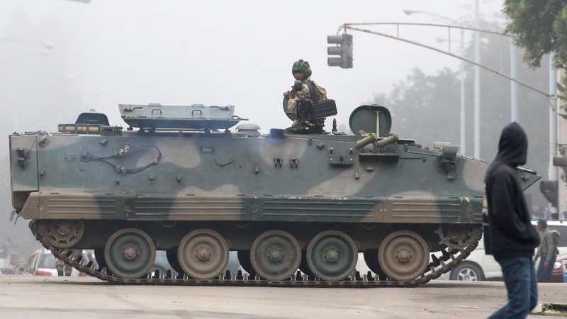 The who and why behind Zimbabwe's military power grab