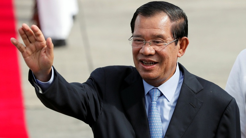Cambodia court dissolves opposition party