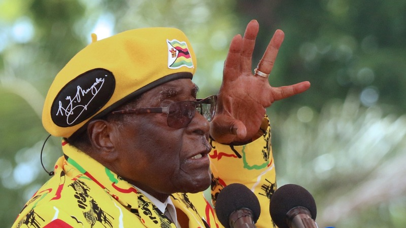 The likely players in a post-Mugabe Zimbabwean government