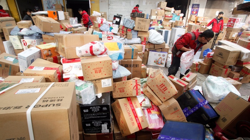 China braces for trash catastrophe after Singles' Day