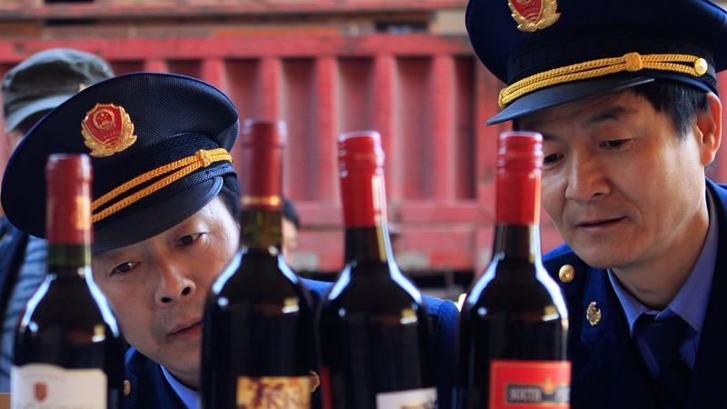 China seizes 14,000 bottles of fake Australian wine