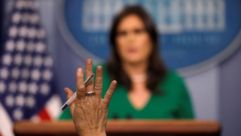 VERBATIM: Franken, Trump are different cases - White House
