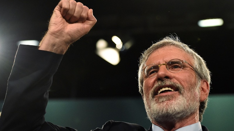 Gerry Adams to step down as Sinn Fein leader