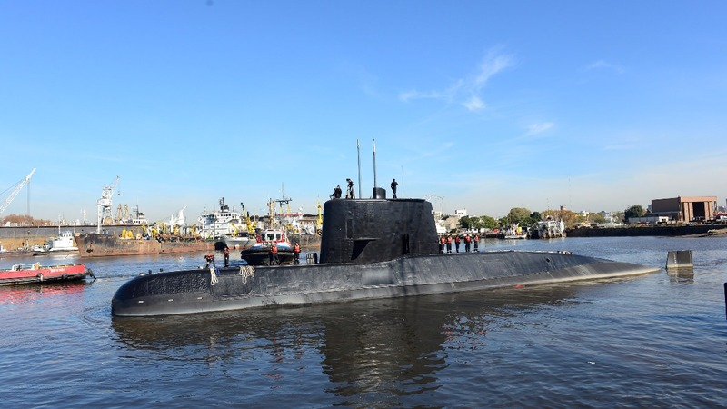 Possible satellite calls from missing Argentine submarine