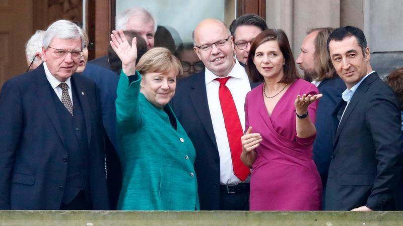 Germany's awkward coalition talks in deadlock