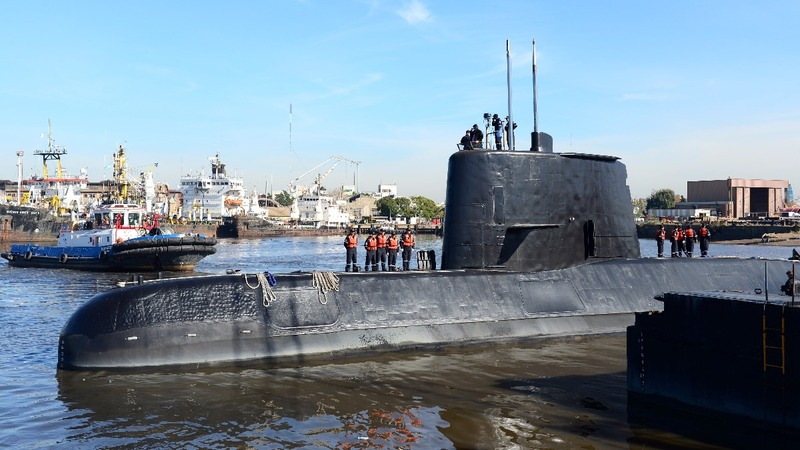 Search for Argentine submarine prompts more U.S. aid