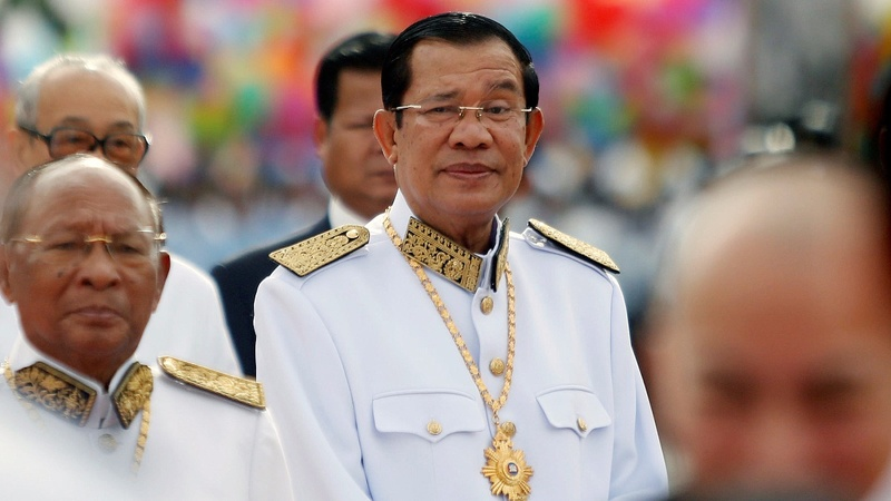 Defiant Hun Sen tells U.S. to cut all aid to Cambodia