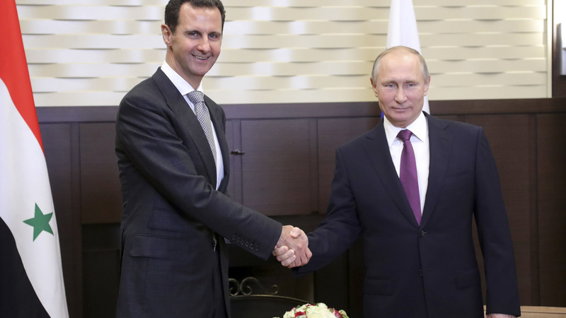 Putin hosts Assad for Syria talks