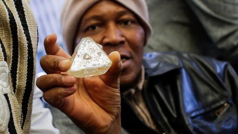 'Peace Diamond' shown ahead of New York auction