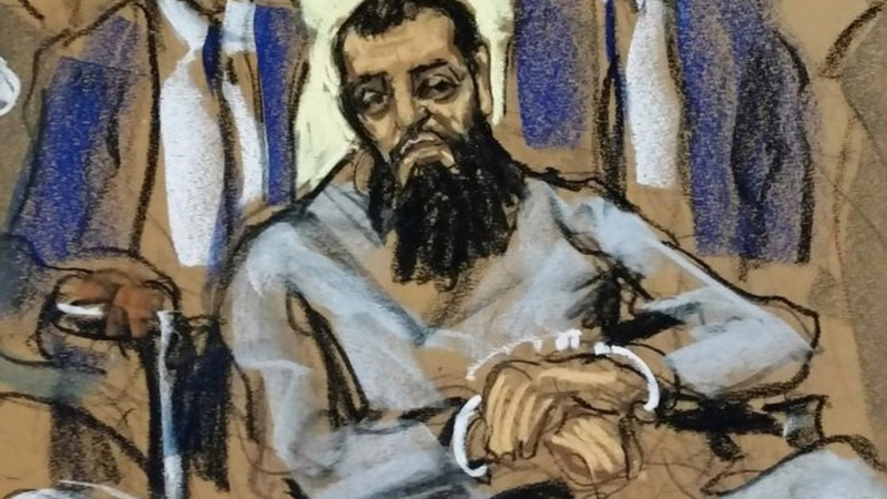 NYC attack suspect indicted for murder, terrorism