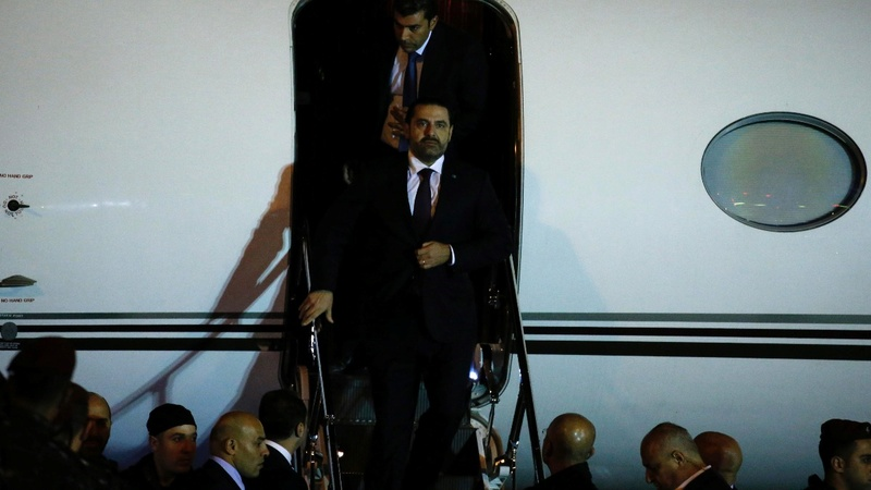 Hariri returns to Lebanon amid political crisis
