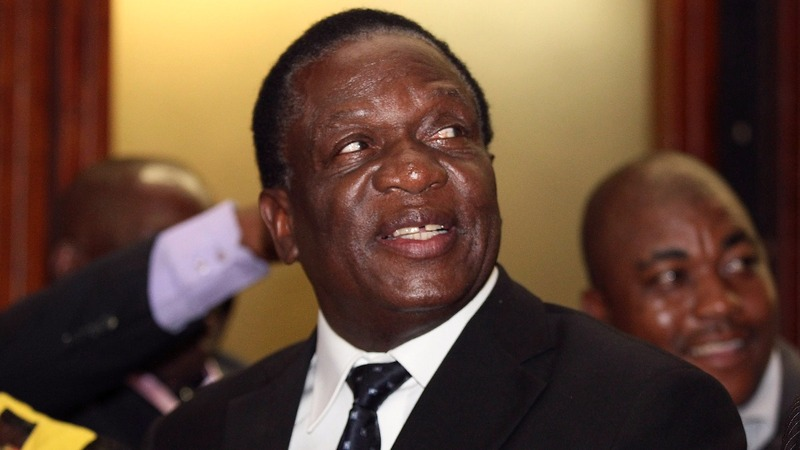 Zimbabwe's new president to be sworn in on Friday